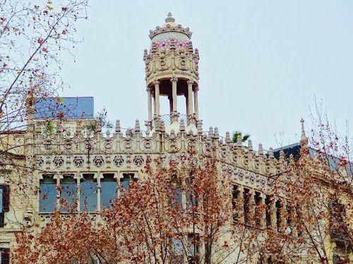 Casa Lleó Morera de  Doménech y Muntaner (Barcelona)