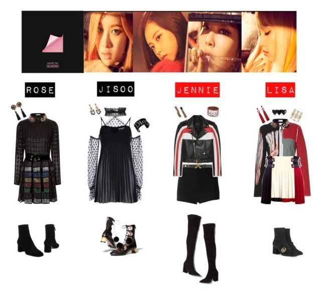 Black Pink Playing With Fire My Polyvore