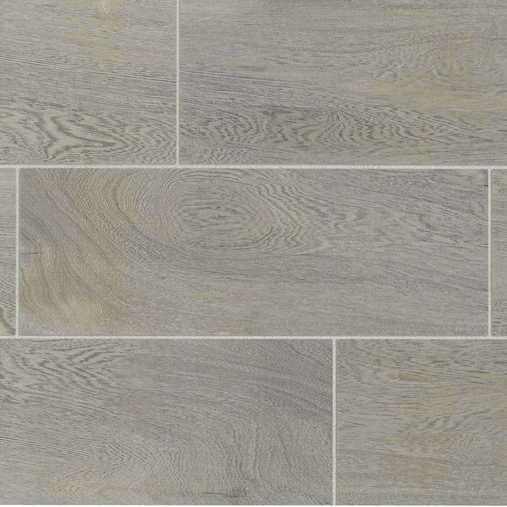 Trafficmaster Glenwood Fog 7 In X 20 In Ceramic Floor And Wall Tile 10 89 Sq Ft Case Gw09720hd1p2 The Home Depot Ceramic Floor Ceramic Wall Tiles Wall Tiles