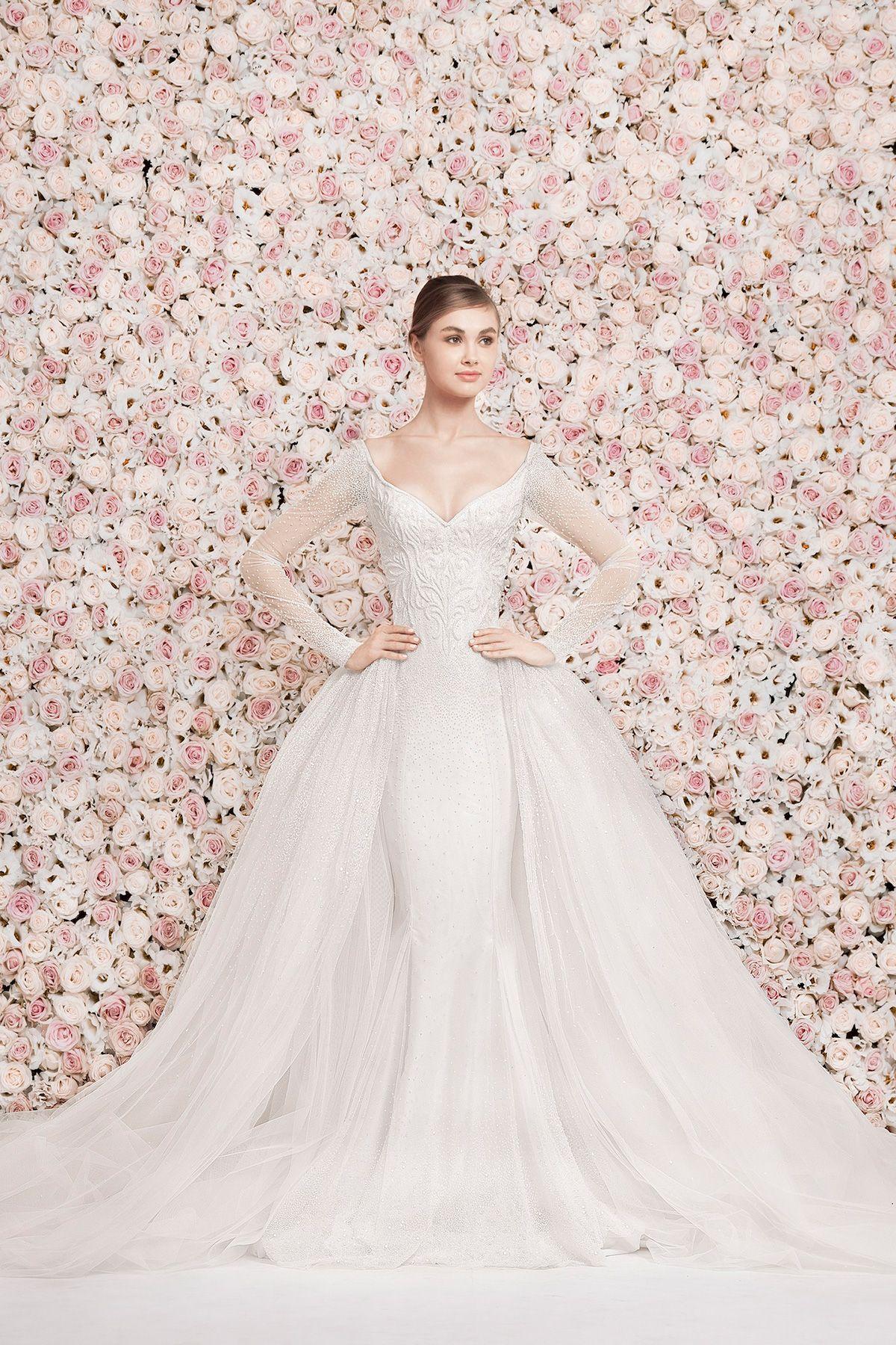 14 Lebanese Fashion Designers Who Make the Most Beautiful Wedding 47