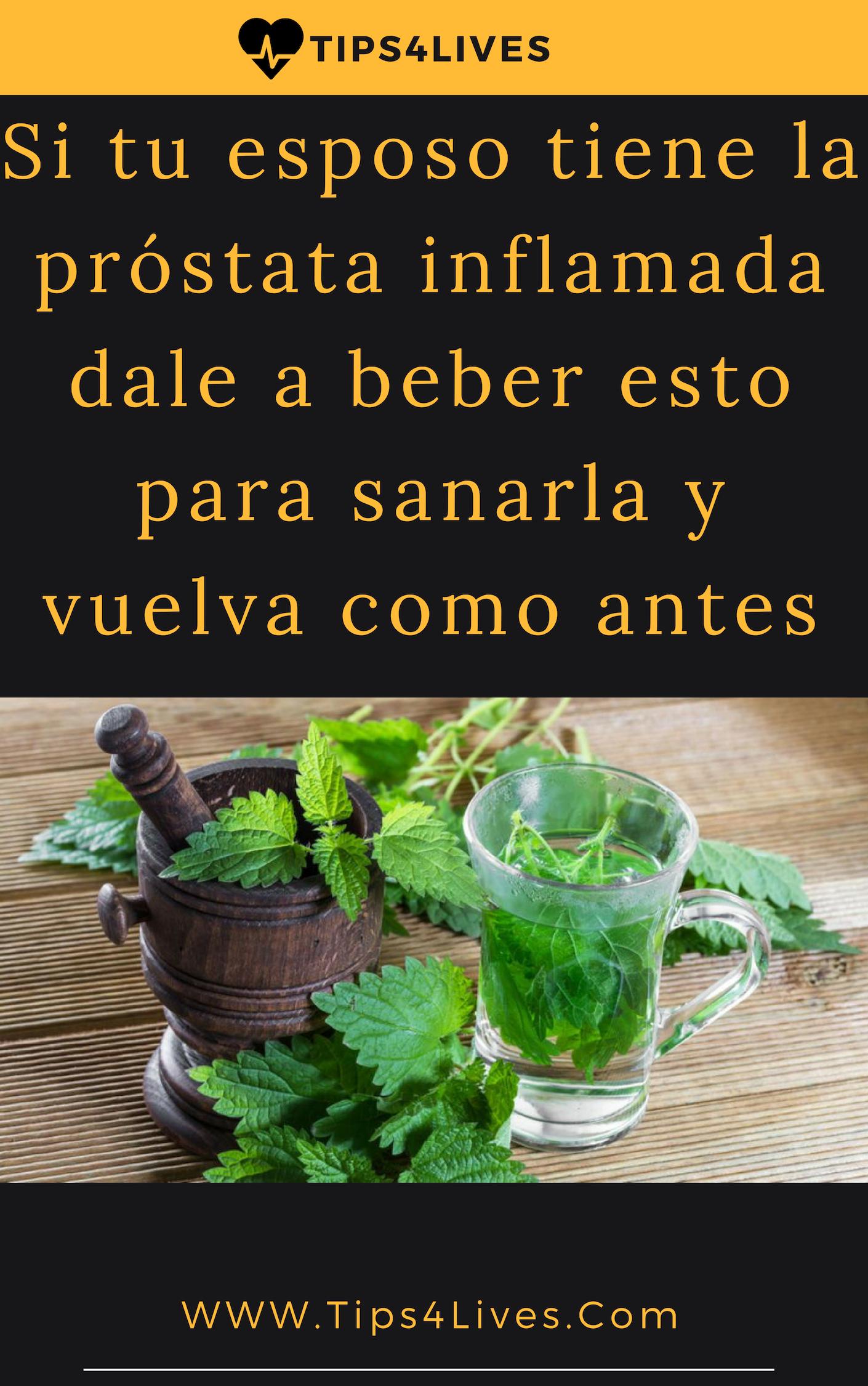 hierbas saludables para la próstata