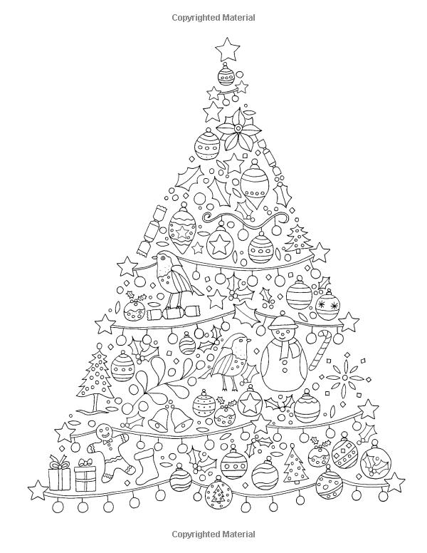 Icolor Christmas Trees Kleurplaten Kerst Kerstmis