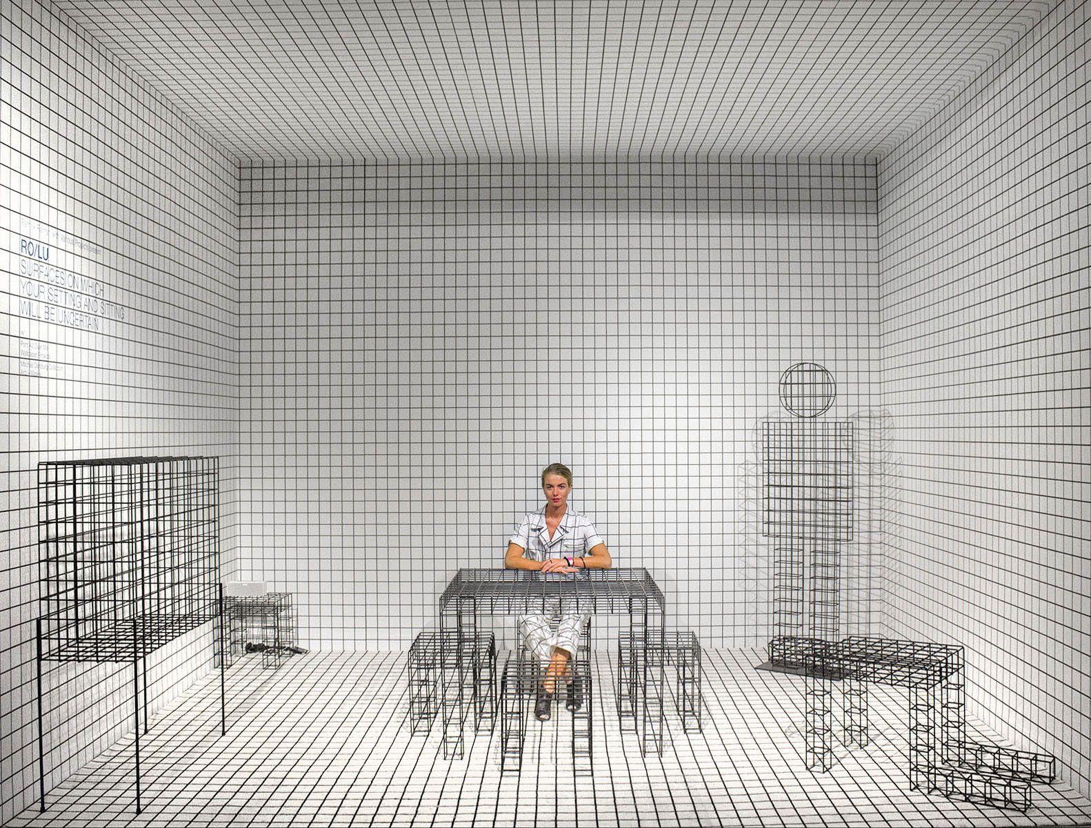 Image result for gridded Showroom design, Miami