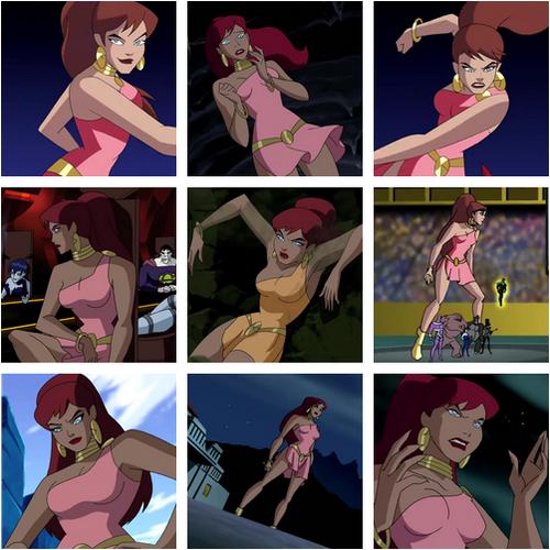 Justice league fire hentai