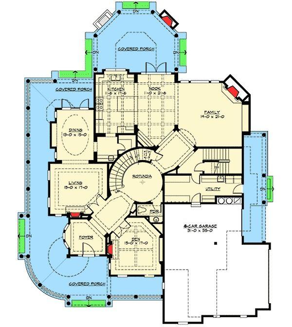 Award Winning House Plans Designs: Plan 23357JD: Award Winning House Plan