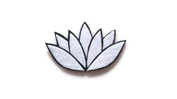 Add a beautiful touch to anything fabric with the Lotus Flower iron on patch!  Use the two drop-down menus to pick the two colors: the background and the petals.  The patch measures 4.5W x 2.75H. No sewing is required...just you and your iron! Full instructions are included.