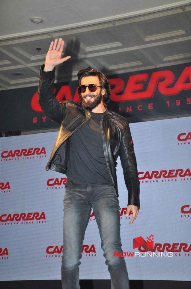 051c5d5333 Ranveer Singh unveils Carrera Eye wear in Delhi