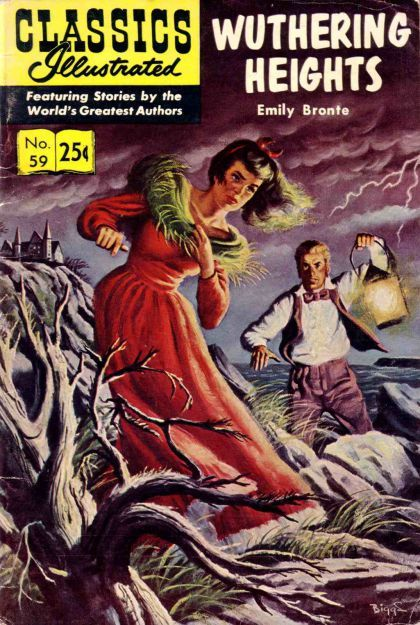 classics illustrated images | Classics Illustrated #59B - Wuthering Heights on Comic Collector ...