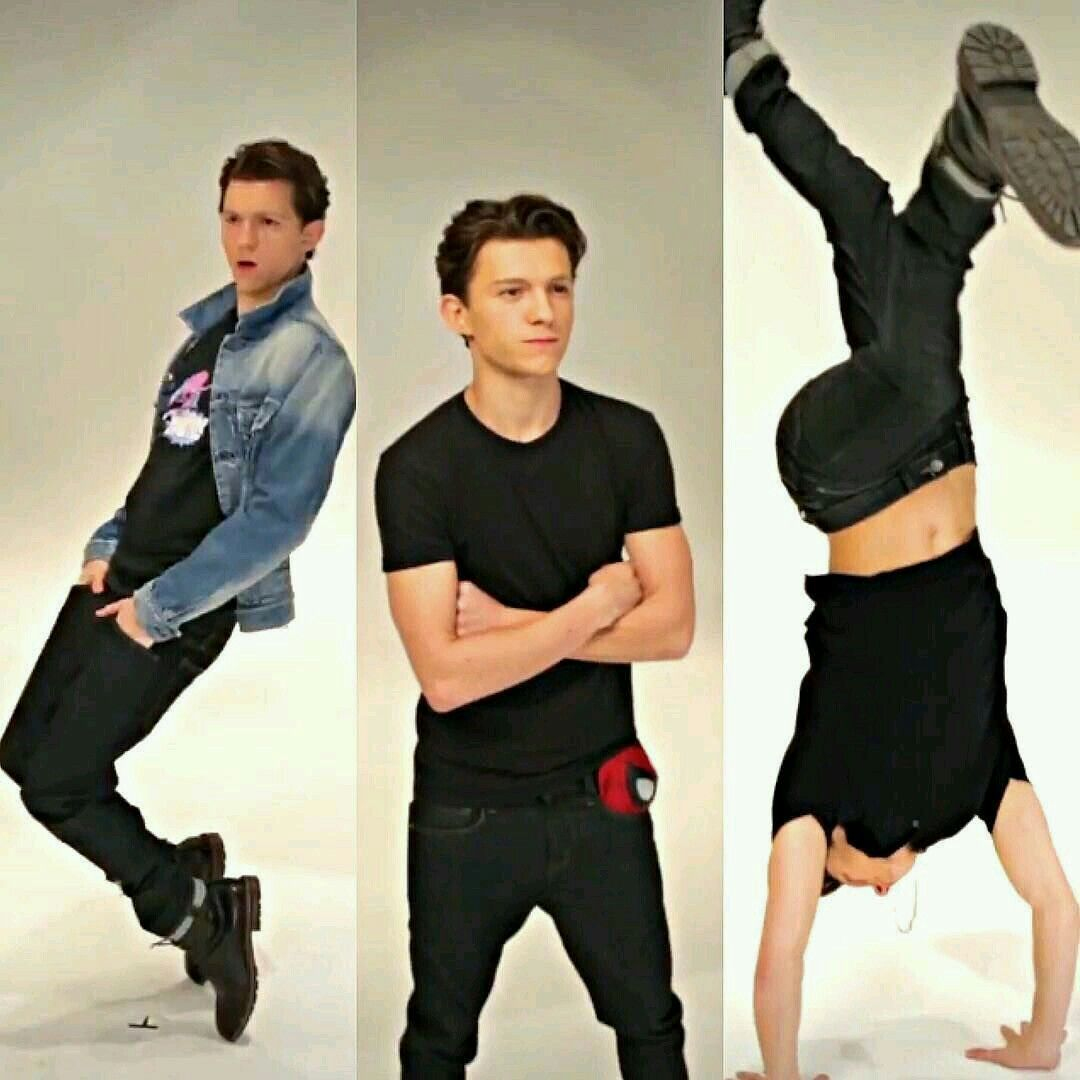Tom Holland..... When u realise he can act AND dance   Tom holland ...