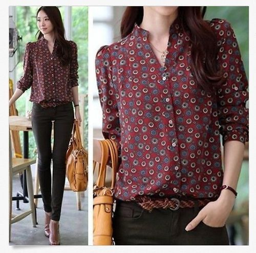 casual button down shirts for women - Google Search | Tops | Pinterest