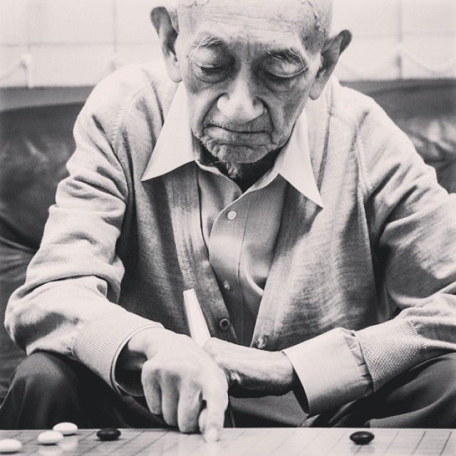 #ShareIG It's a sad day when I heard #goseigen has passed away with 100 years old. I salute to the father of modern-go. Honor for him forever. #RIP #weichi #baduk #WuQingyuan