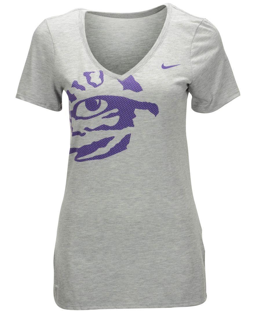 Nike Women s Lsu Tigers Mesh Mascot T-Shirt  11ad77a6d
