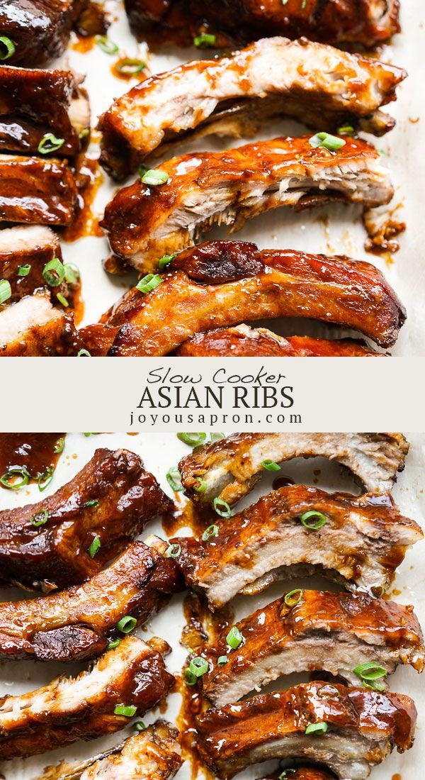 Photo of Slow Cooker Asian Ribs