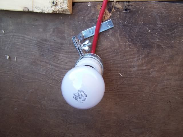 How To Make A Heater Using Lightbulb Paint Can Ceramic Fixture