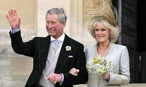 The Prince of Wales with the Duchess of Cornwall