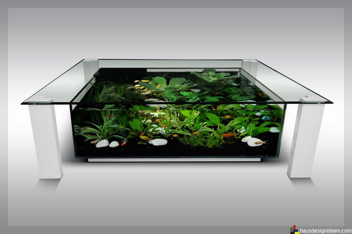 Schön Tisch Aquarium 020