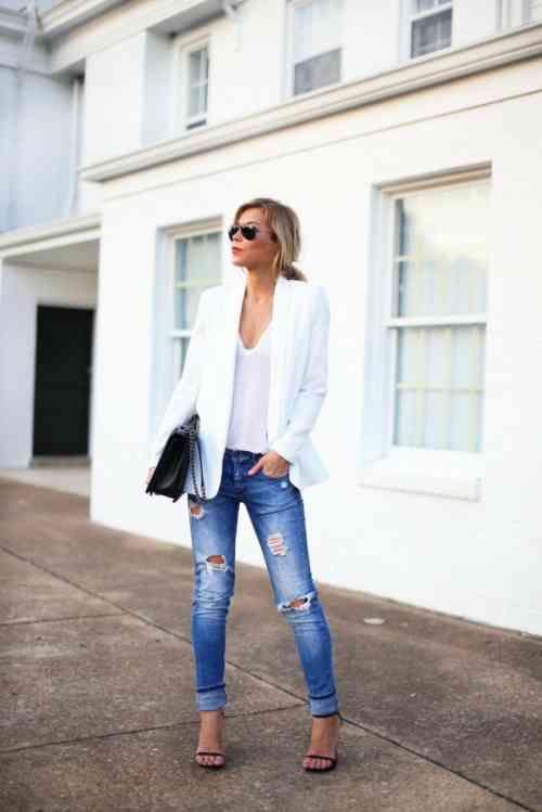 295aac2098c1 Comment porter un blazer femme  les nouvelles tendances