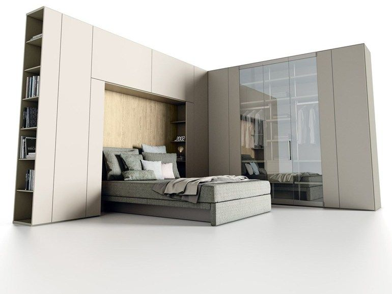 sectional lacquered bridge wardrobe roomy | bridge wardrobe ... - Camera Da Letto Caccaro