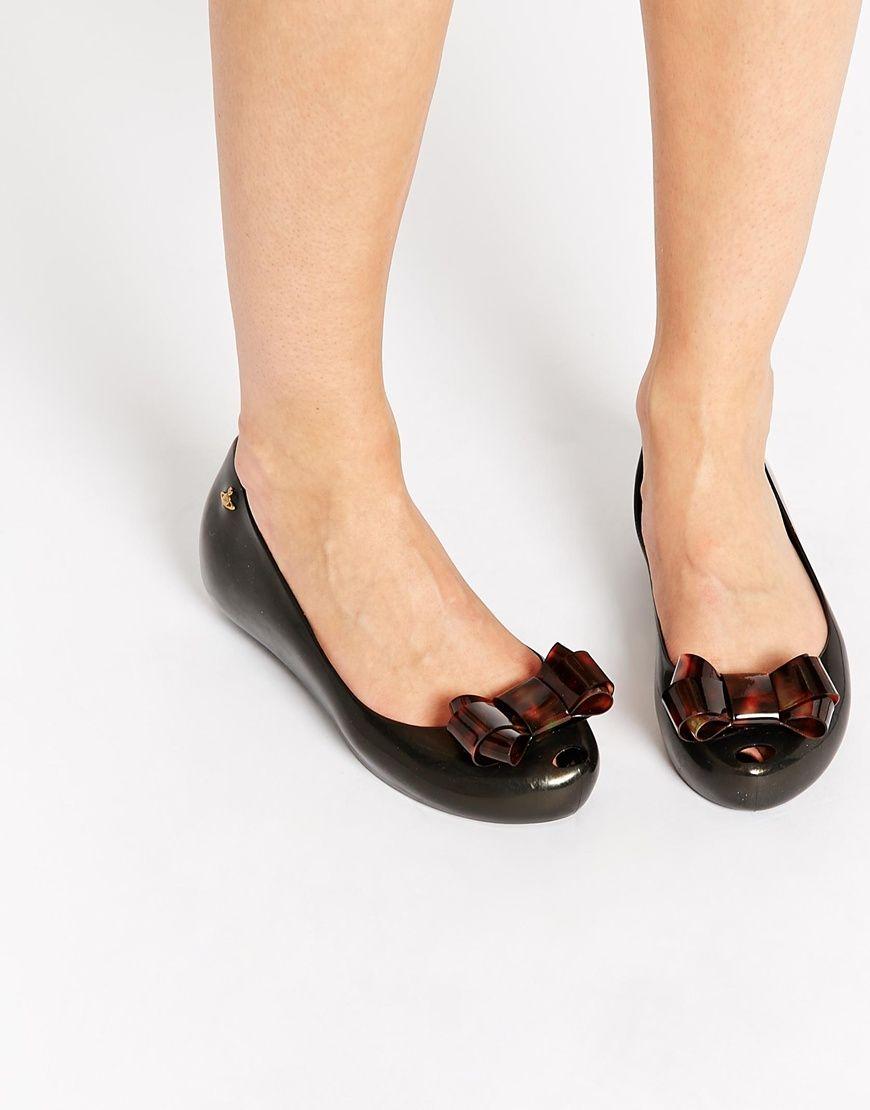 Melissa Ultragirl Bow Flat Shoes