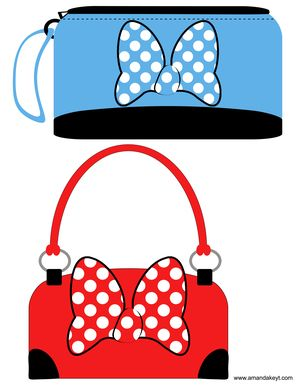 picture relating to Free Printable Mickey Mouse Photo Booth Props referred to as Handbags towards Minnies Bowtique Encouraged Printable Image Booth