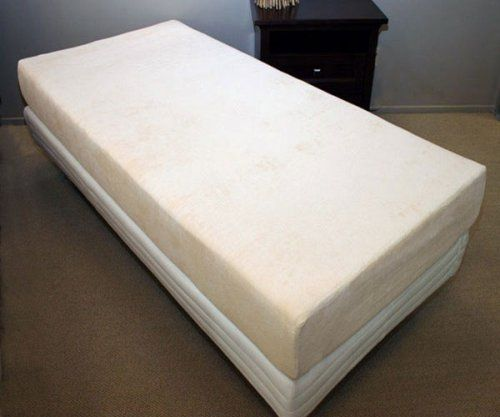 Twin 12 Deluxe Double Air Flow Memory Foam Mattress With 5 5lb Density Viscoelastic