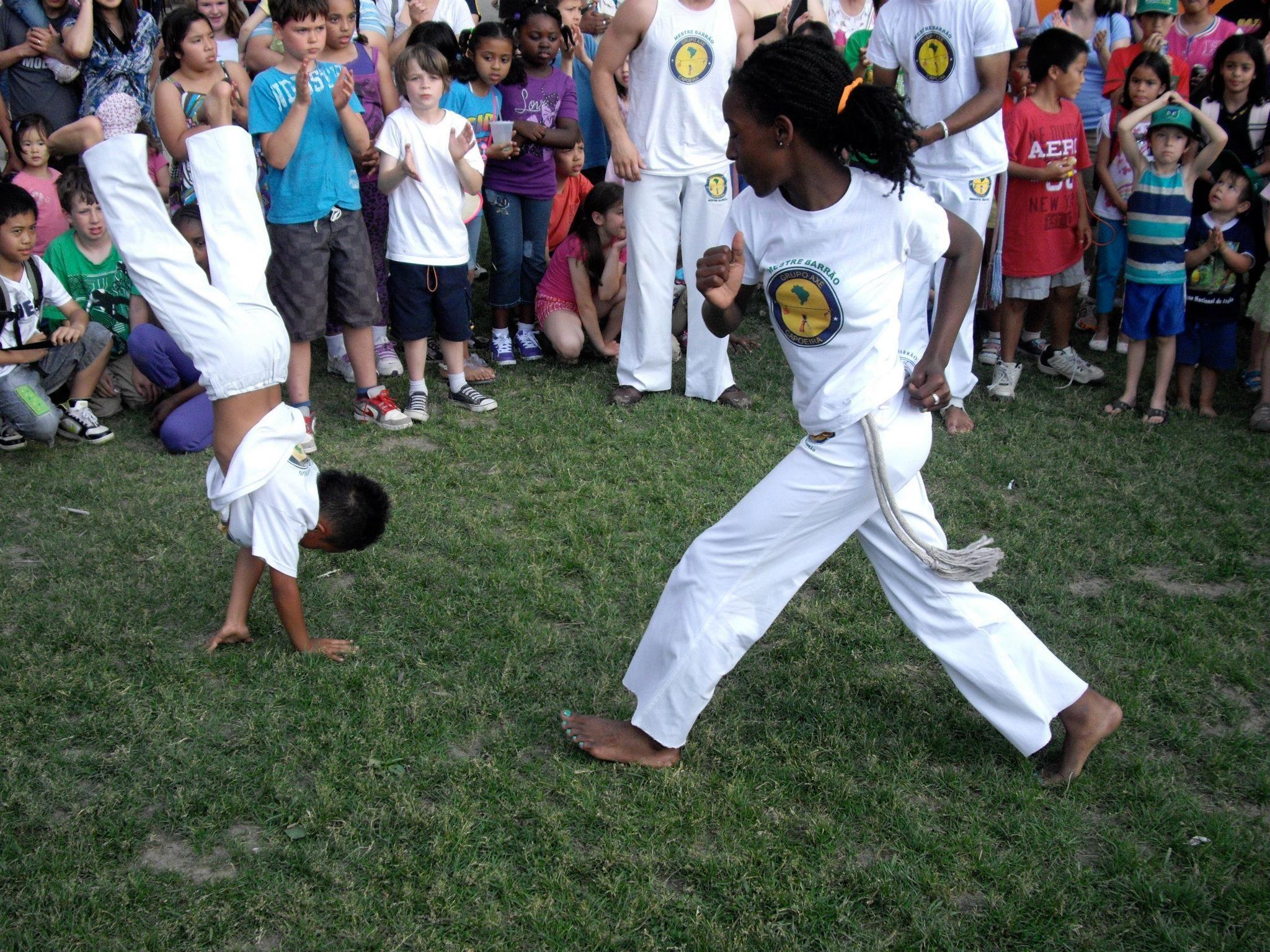An Enjoyable Activity For Children Capoeira Portuguese