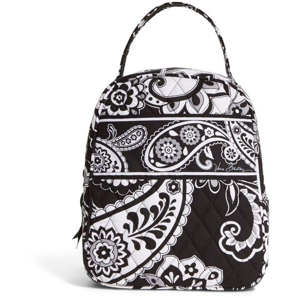 1d5c3afaae Vera Bradley Lunch Bunch Bag in Midnight Paisley ( 24) ❤ liked on Polyvore  featuring home