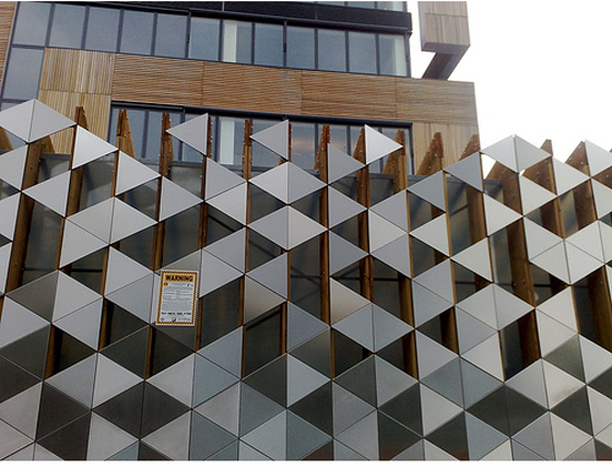 Facade pattern architecture  Triangles and depth | Pattern Pattern Pattern | Pinterest ...