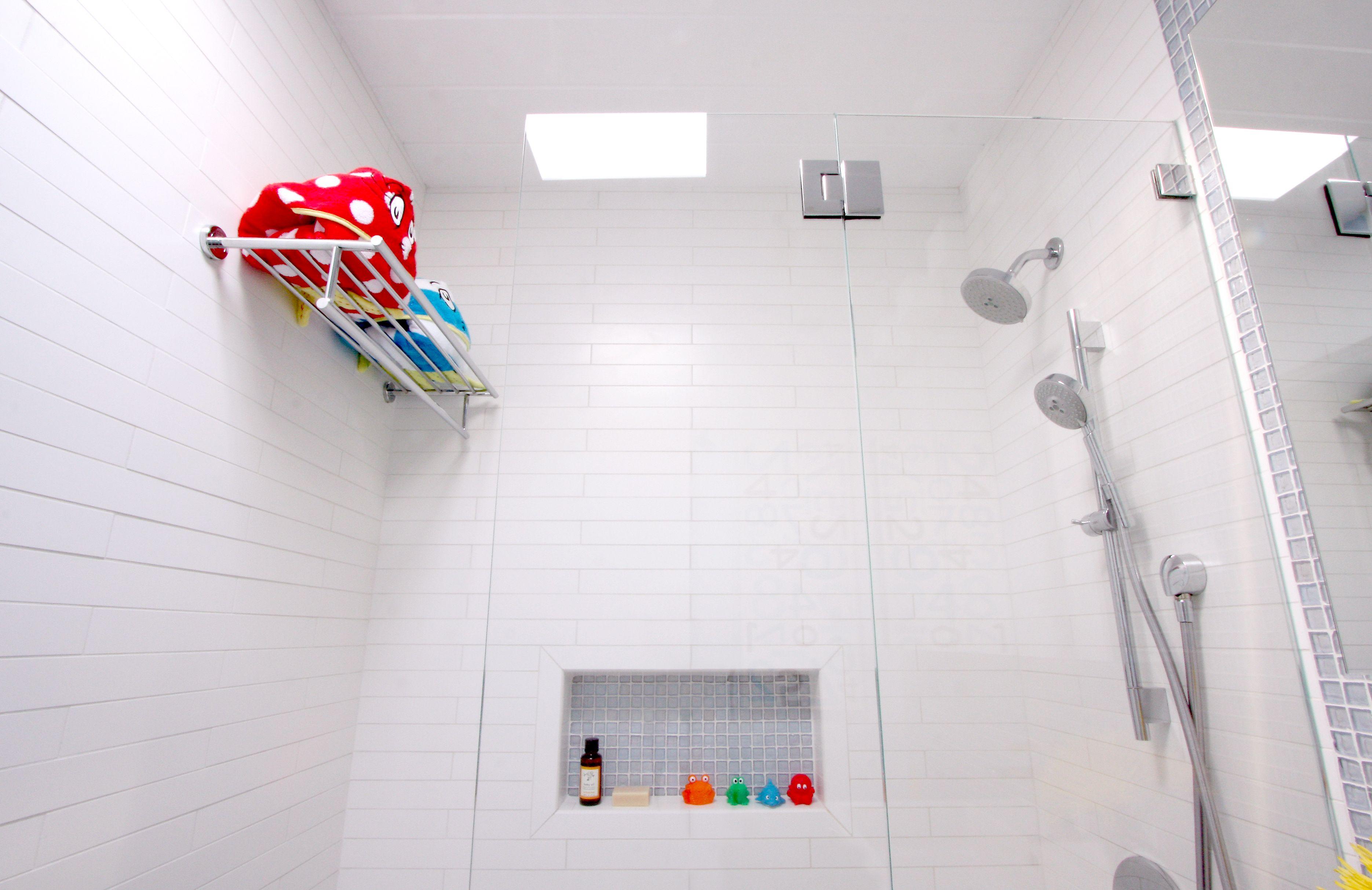 Matte White Bathroom Tiles