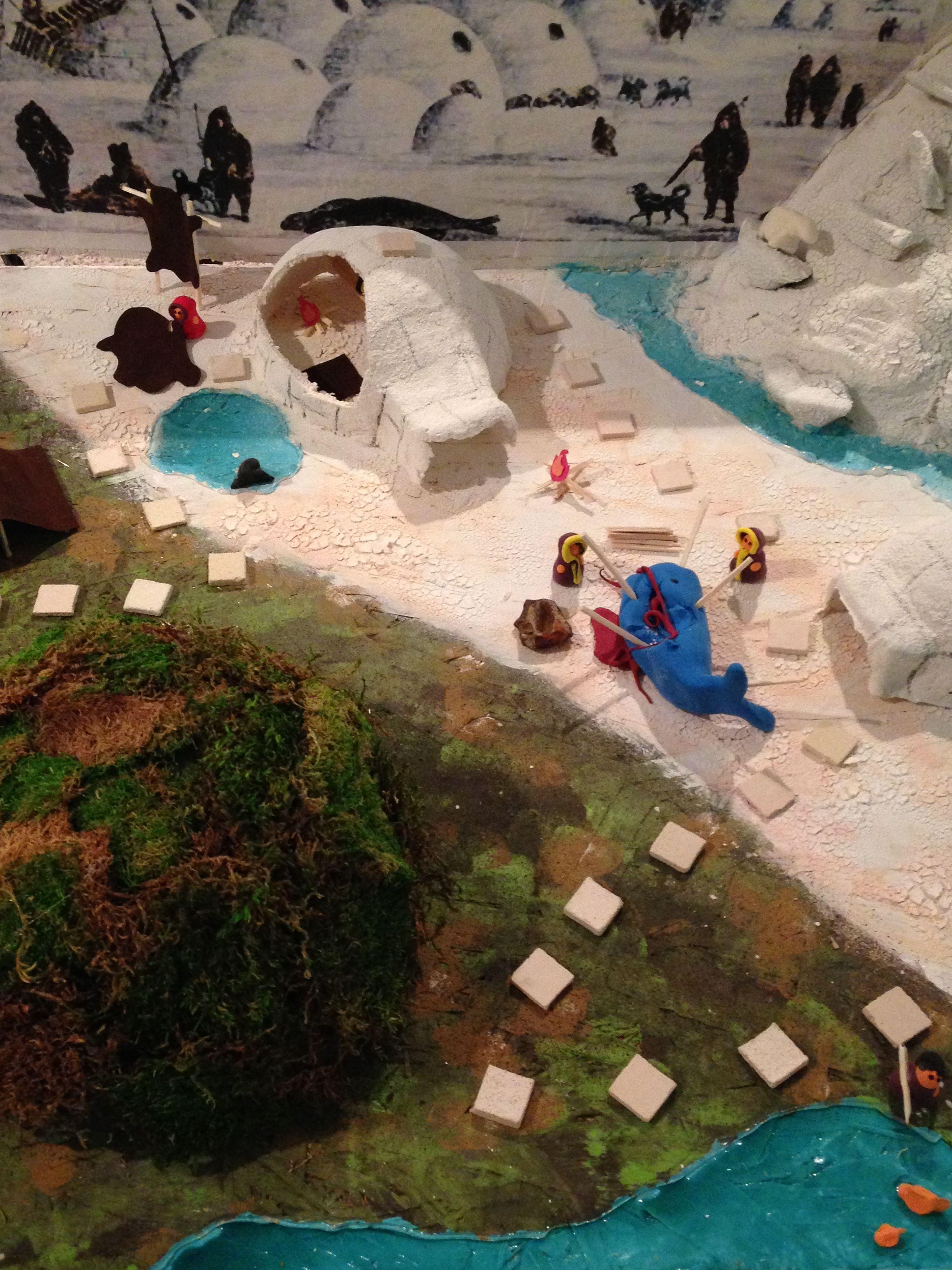 Inuit Diorama Board Game