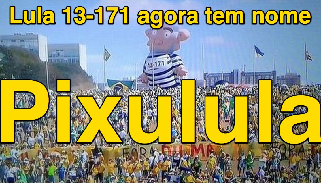 Lula 13-171 agora tem nome: Pixulula ➤ http://noblat.oglobo.globo.com/meus-textos/noticia/2015/08/pixulula-o-nome-dele.html ②⓪①⑤ ⓪⑧ ①⑧ #ILoveLula #Pixulula