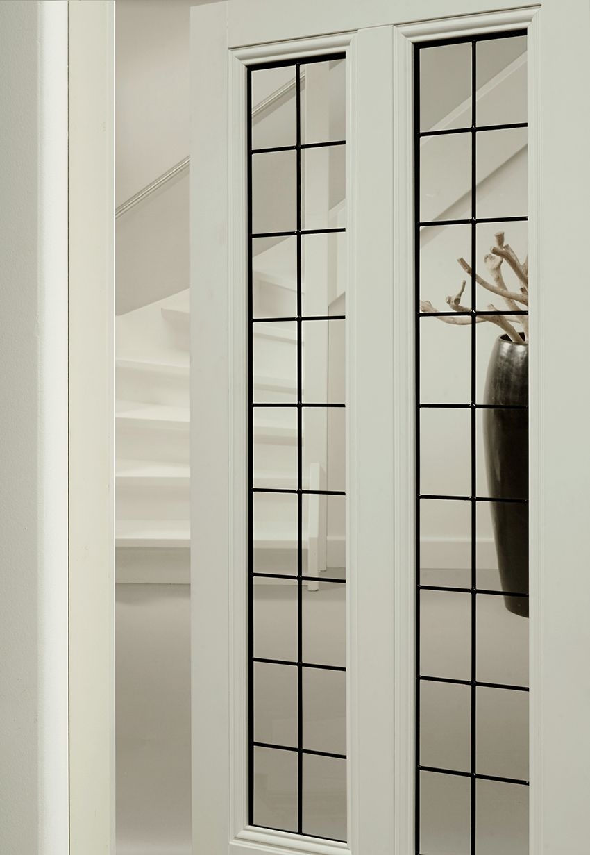Moderne Glas In Lood Deuren.Bruynzeel Deuren Deur Idee Binnendeur Glas In Lood In