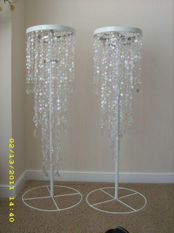 Budget chandelier crystal diamond wedding diy pinterest budget chandelier crystal diamond wedding diy pinterest wedding centerpieces diy wedding and wedding aloadofball Images