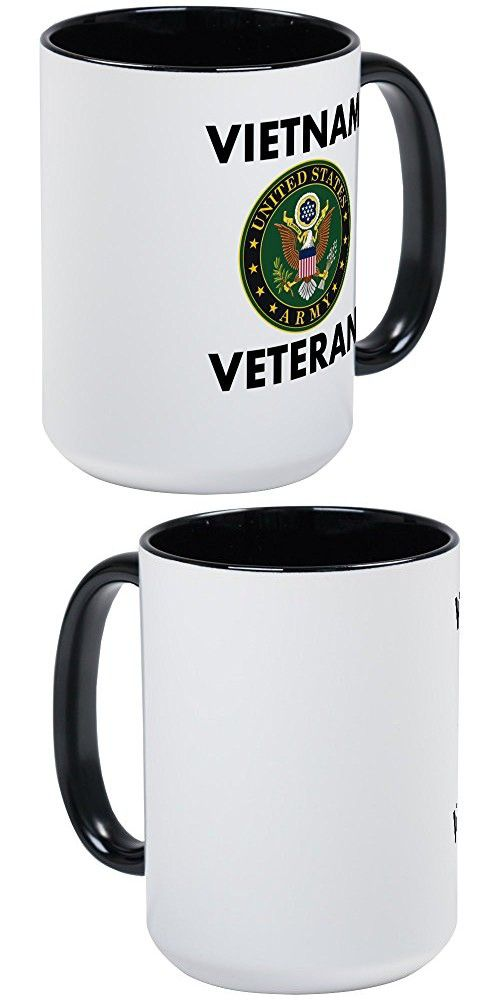 Cafepress Vietnam Veteran Mugs Coffee Mug Large 15 Oz White Cup