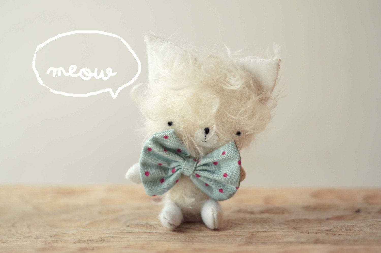 Nico Little Kitty Plush Made To Order Stuffed Softies