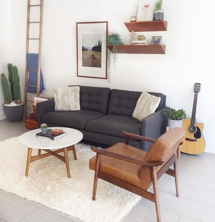 44 Incorporate An Office Nook Into A Living Room Design images