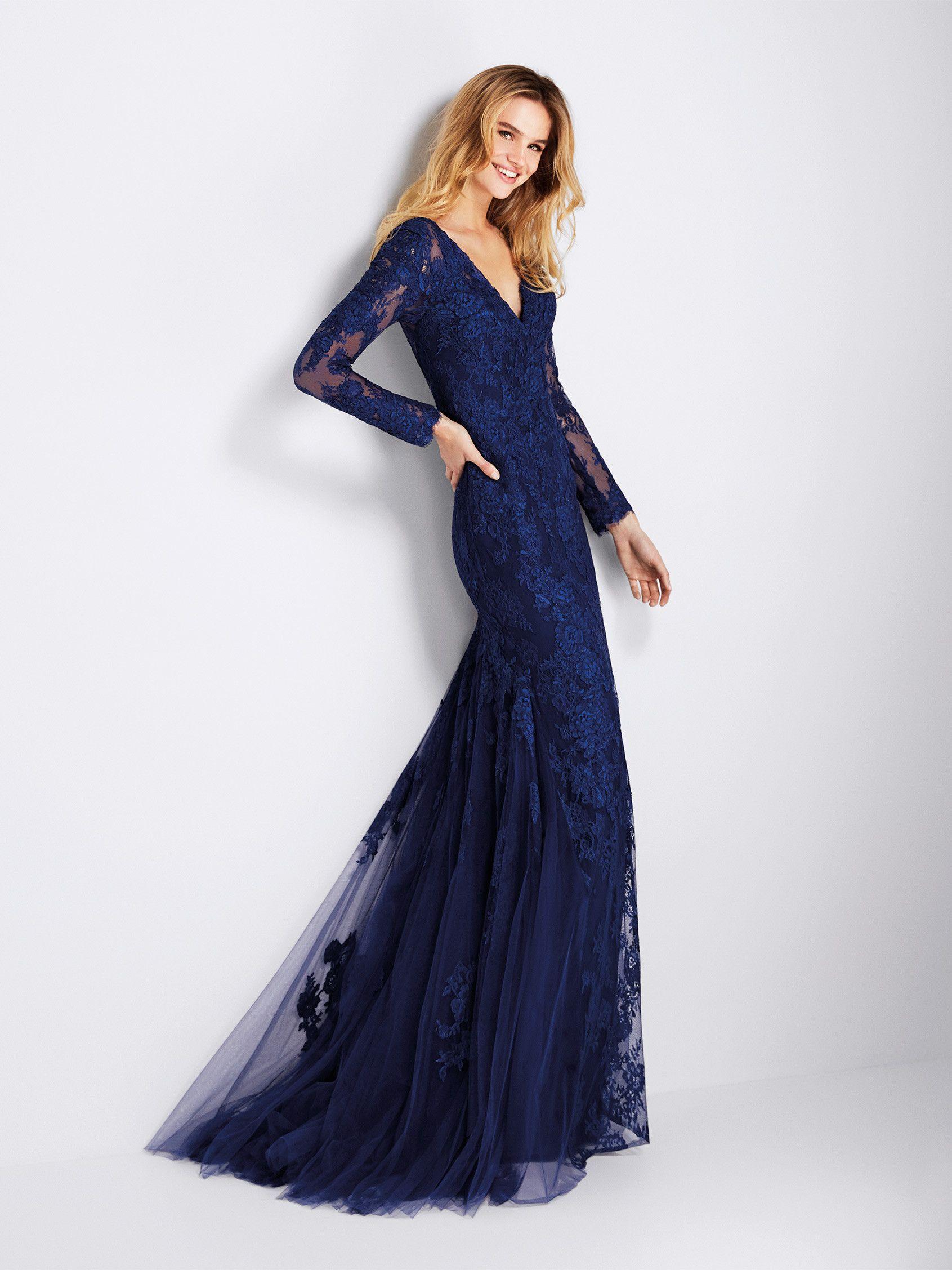 Compra Gento: Vestido de fiesta romántico de encaje y