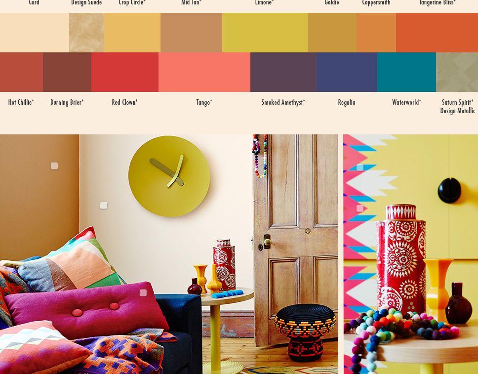 Dulux Paint Color Trends 2014