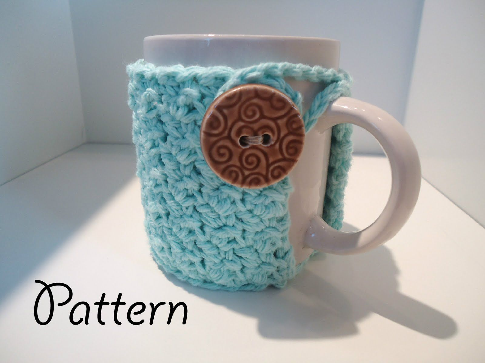 free crochet pattern for coffee mug cozies! | LovelyCraftyMama ...