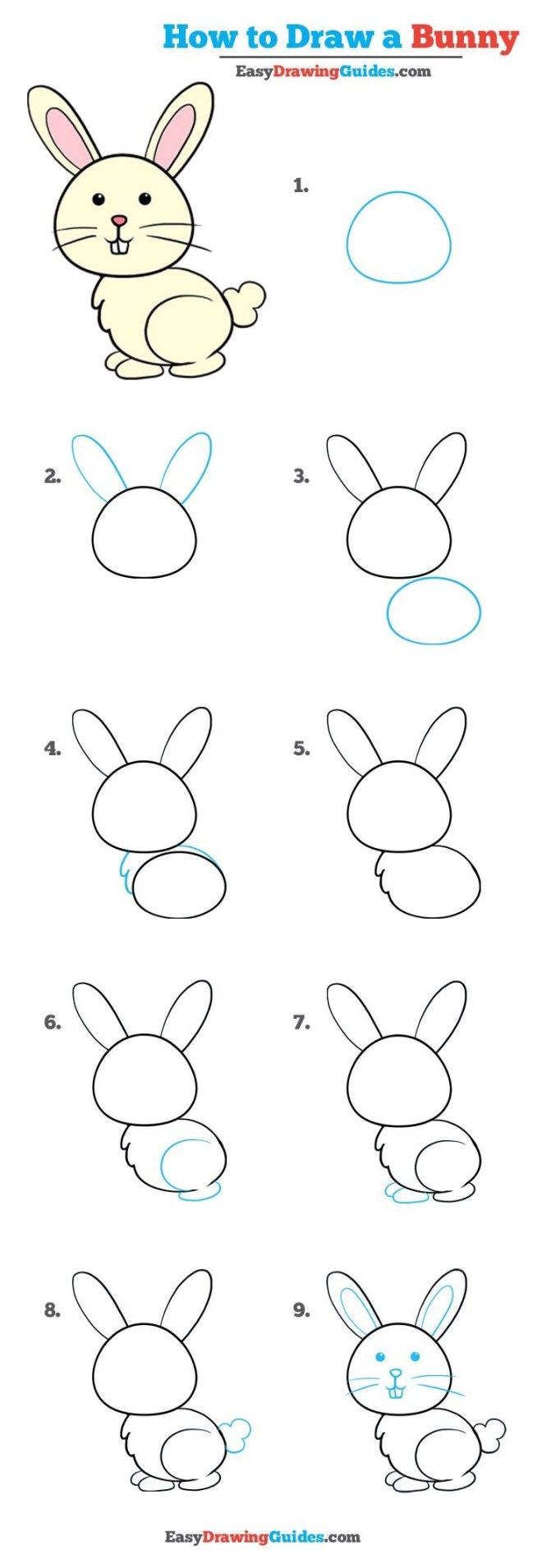 10 Cartoon Animal How To Drawings – Brighter Craft