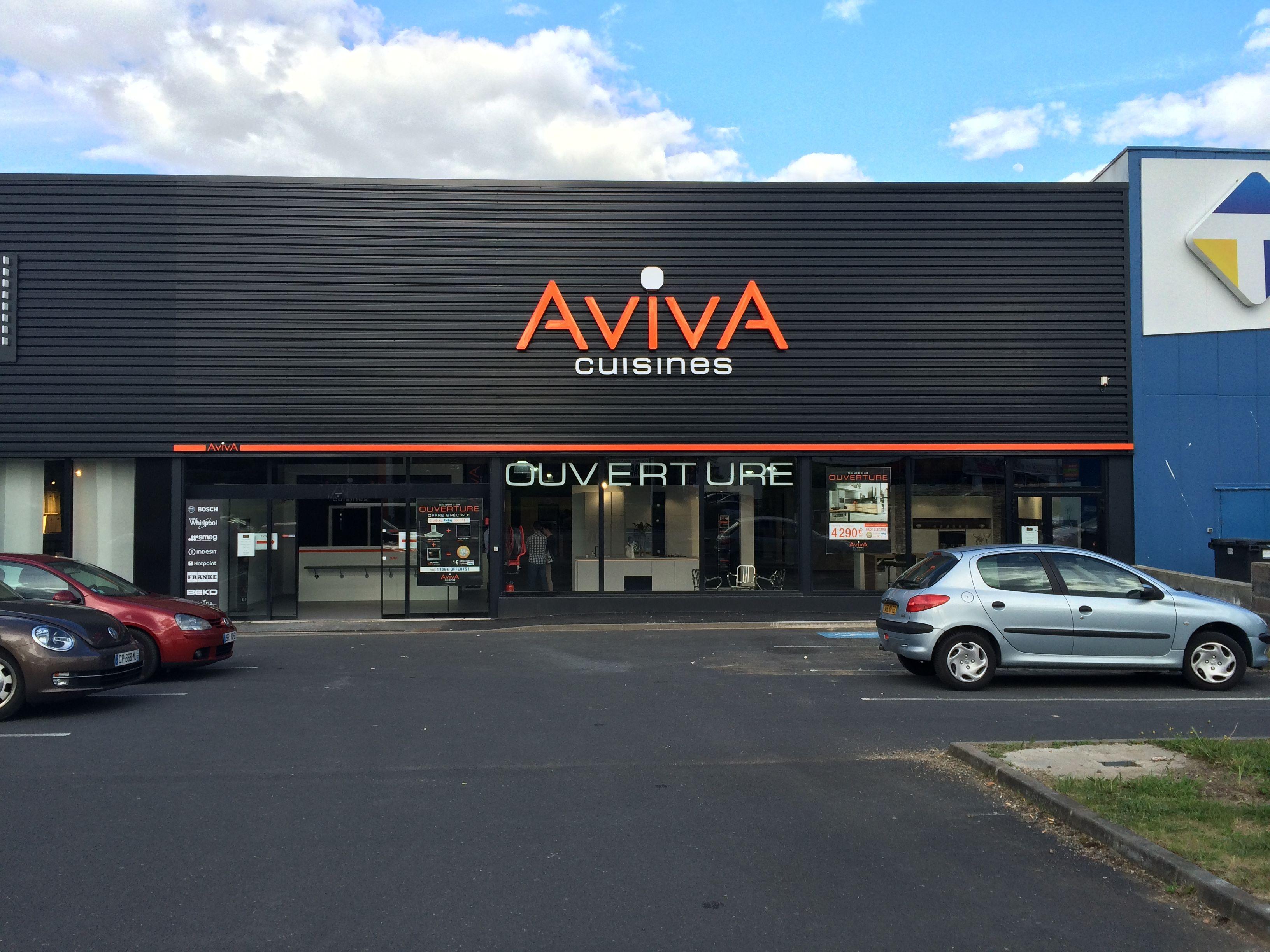 Cuisines AvivA ClermontFerrand à Auvergne ZI COURNON Avenue - Cuisinistes clermont ferrand