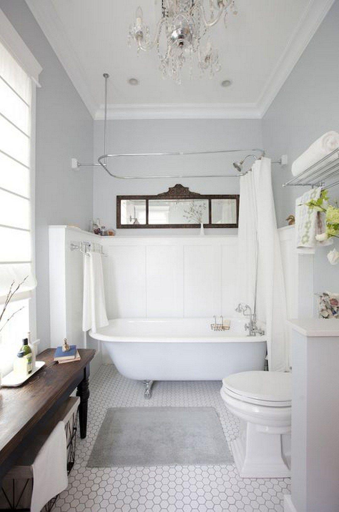 100 Small Master Bathroom Design Ideas In 2020 Bathroom Tub