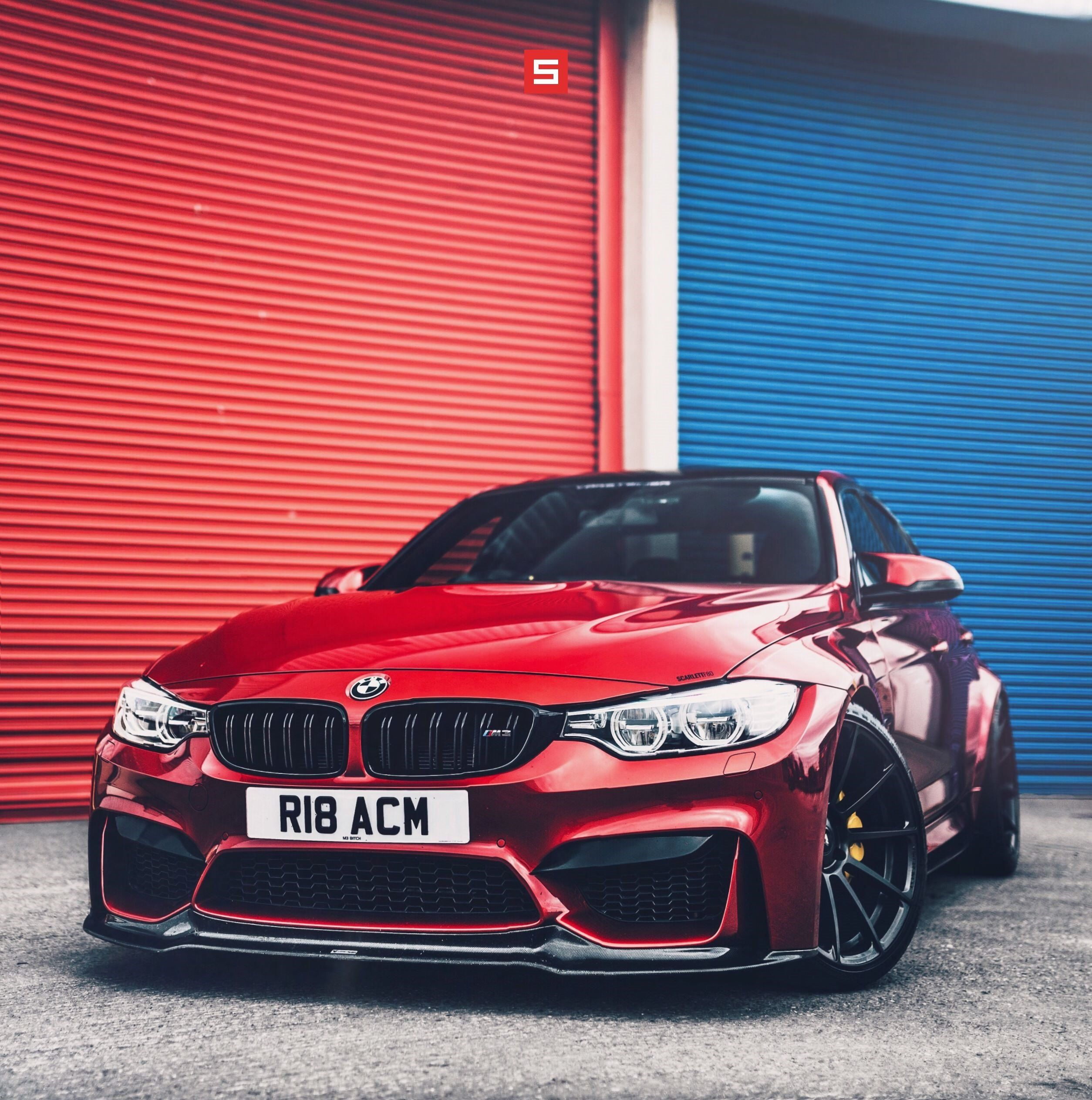 Peculiar Red Paint Of Bespoke Bmw 3 Series Magnitizes The Crowd