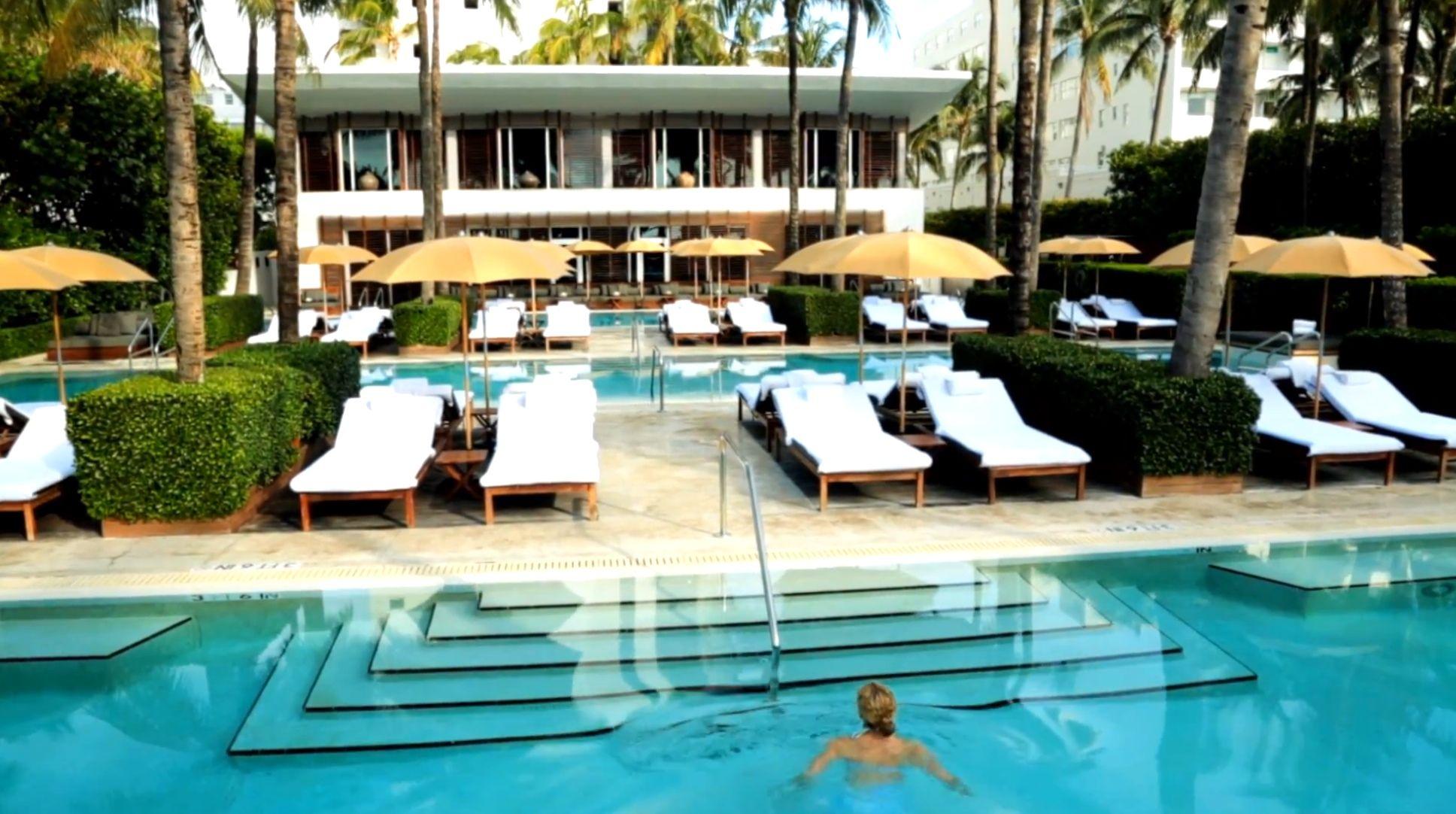 Pools at The Setai Miami Beach