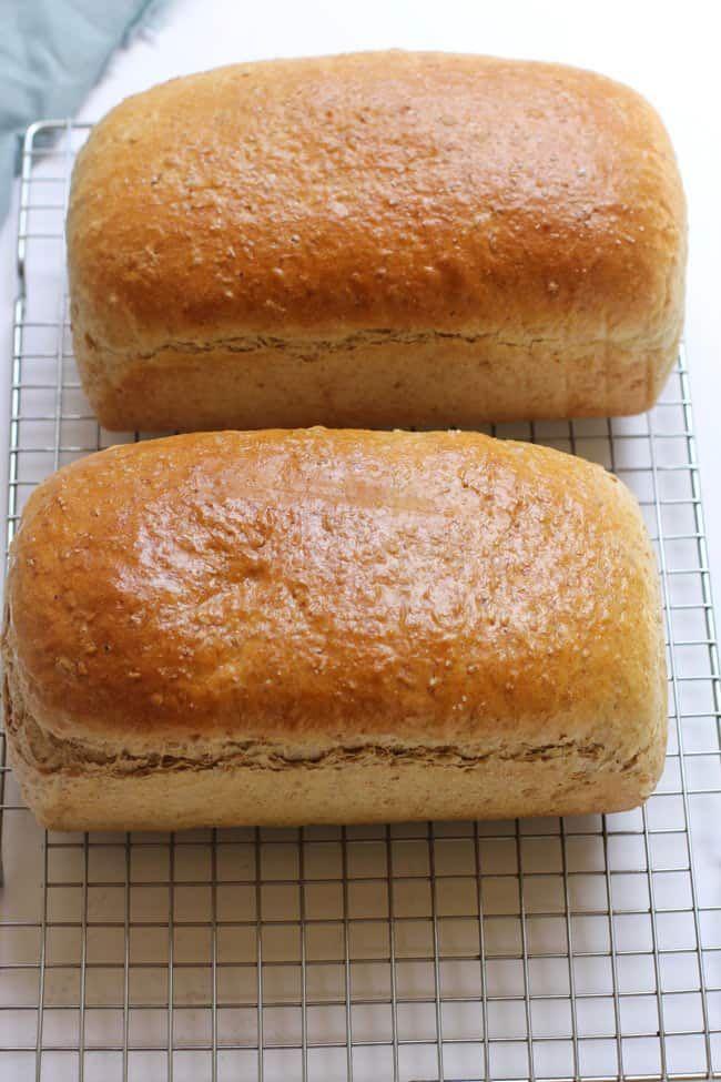 Cracked Wheat Bread | Recipe in 2020 | Wheat bread, Bread ...