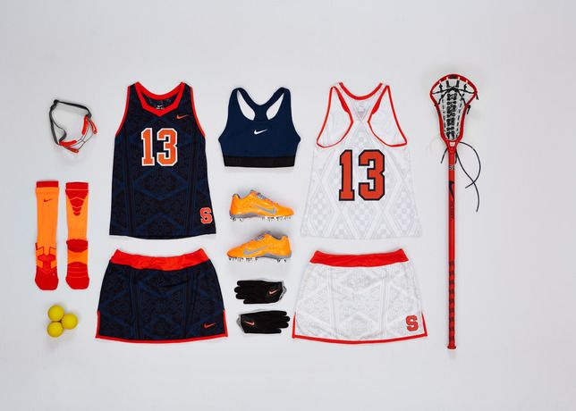 on sale 5d045 242a6 Nike Collegiate Lacrosse Teams Outfitted in Unique ...