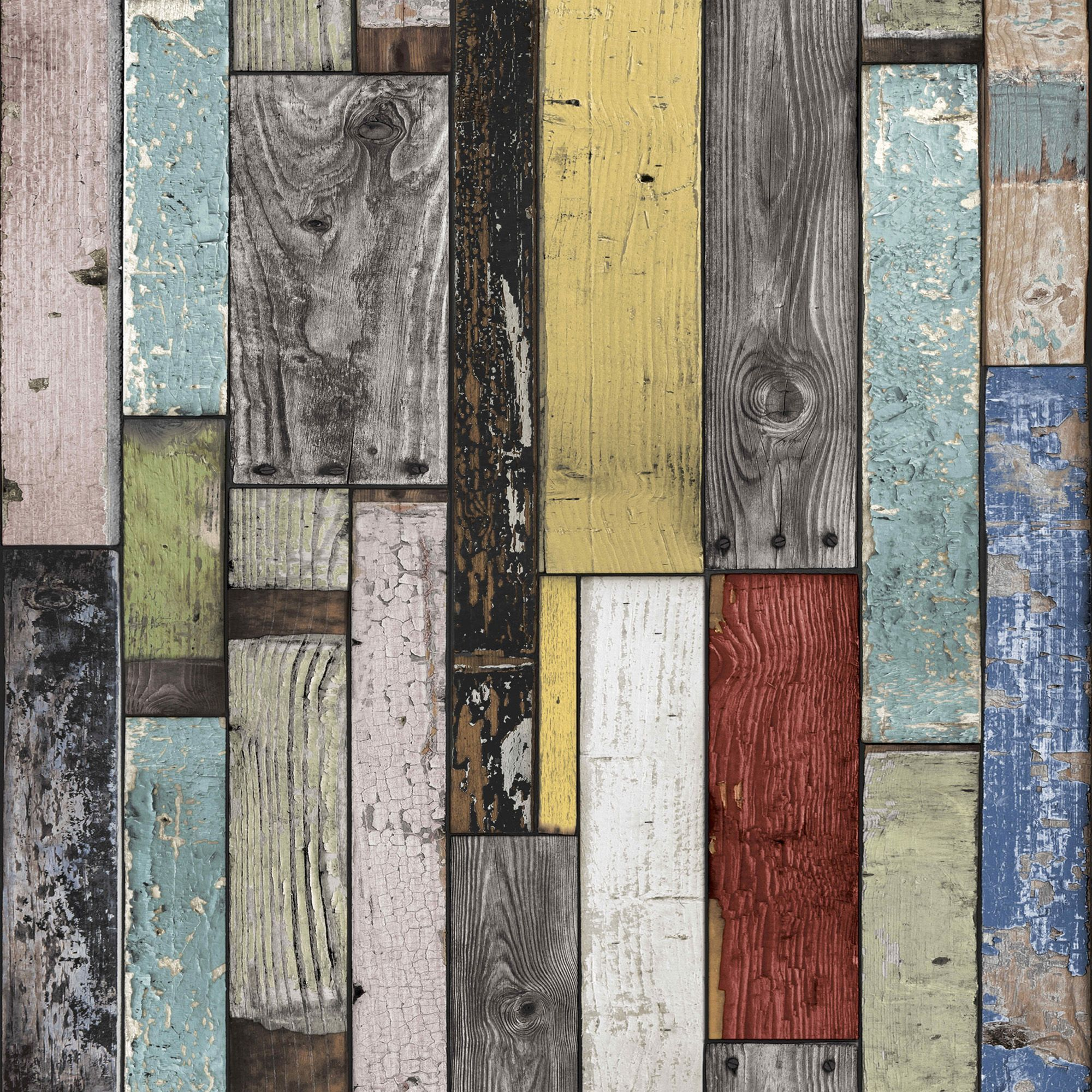 Pin von piddix auf rustic wood wall art wooden wallpaper - Wood effect wallpaper living room ...