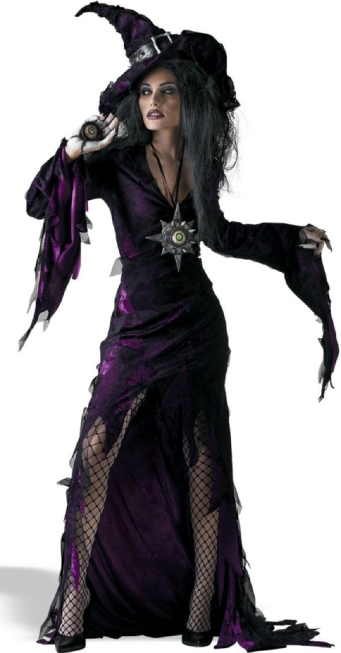 Sorceress Witch Halloween Costume for women. | Adult Halloween ...