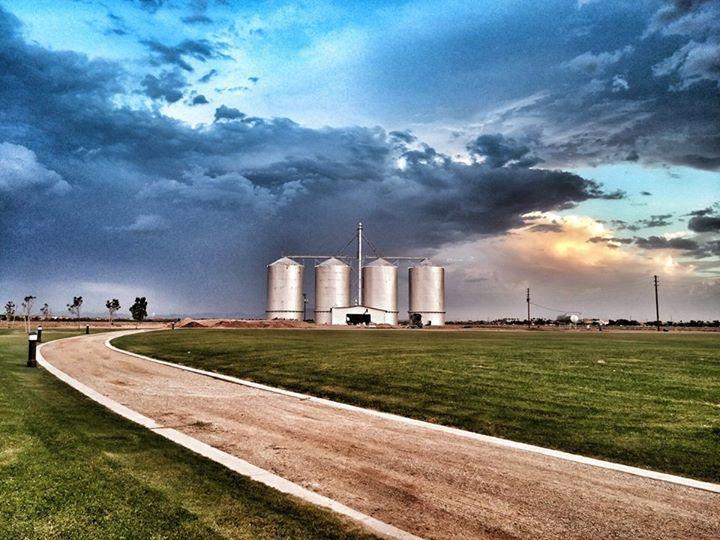 Beautiful Picture Of The Gilbertaz Morrison Ranch Grain Silos