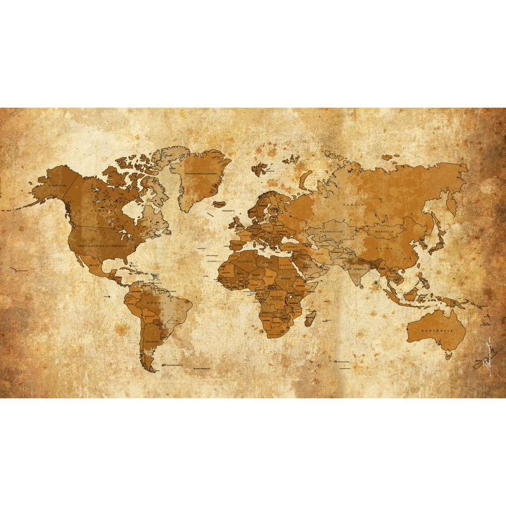 Old Worldmap Weltkarte By Kunstlab On Deviantart World Map Map Deviantart